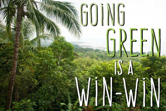 Going Green is Win-Win