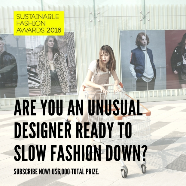 Sustainable Fashion Awards 2018, Slow Fix Blog