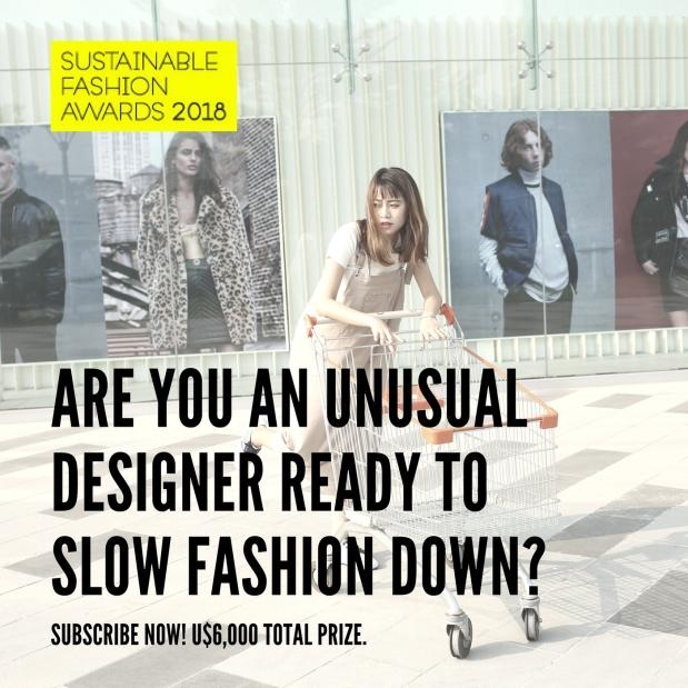Sustainable Fashion Awards 2018, Slow Fix Blog