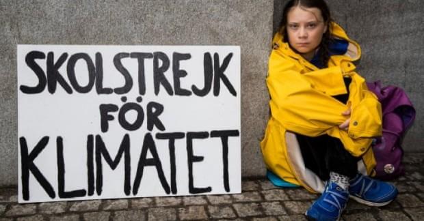 Greta Thunberg, Strajk dla klimatu, Slow Fix Blog