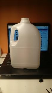 d butelki mleka do biżuteri by Marcin Giebułtowski, Slow Fix Blog