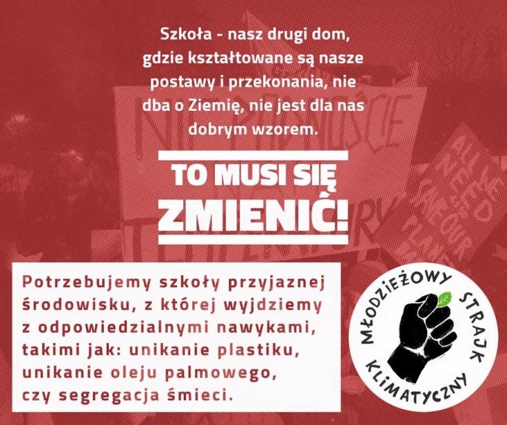 Strajk dla klimatu, 15 marca, Slow Fix Blog